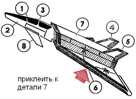 сделай сам модель самолета из бумаги.