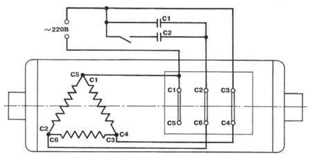 Электродвигатель асинхронный схема включения фото 672