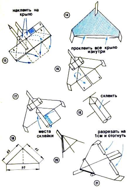 Комментарий простая модель самолета